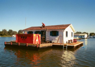 Pro Waste boat house