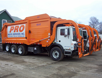 Pro Waste Services Truck