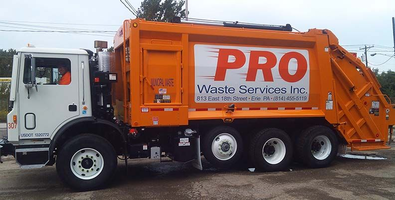 Pro Waste Rear Load Garbage Truck